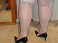Seamed Stockings 1