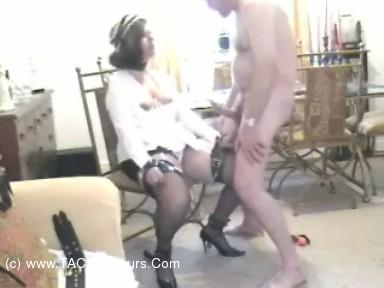 CumonMarie - Marie Bondage French maid Fucked Hard Mo scene 1