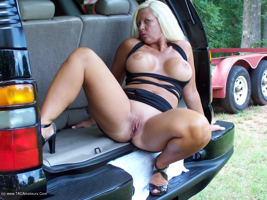 Pussy In The Car 61
