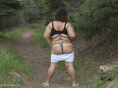 CurvyBabyGirl - A Stroll In The Forest Photo Album