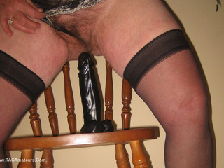 Girdle Goddess - Black Dildo Picture Gallery