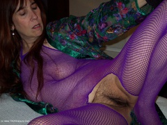 MoonAynjl - Purple Body Stocking Photo Album