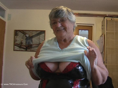 GrandmaLibby - Birthday Treat For A Member Pt1 Video