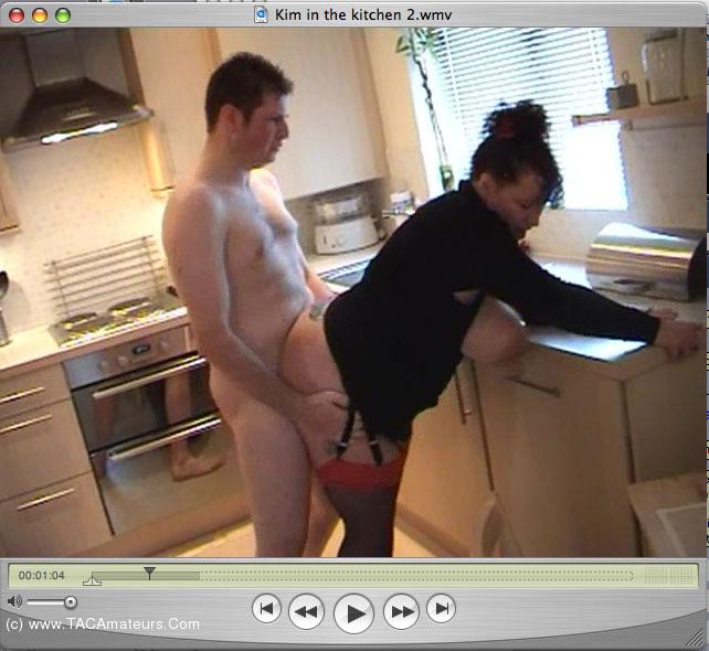 SpunkySam - Kim In The Kitchen Pt2 scene 0