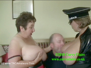 Curvy Claire - PVC 3 Some Domination Pt1 HD Video