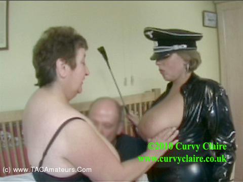 CurvyClaire - PVC 3 Some Domination Pt1 scene 1