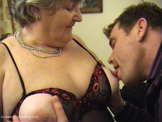 Grandma Libby - Sucking Fucking Foot Wank Pt1 HD Video