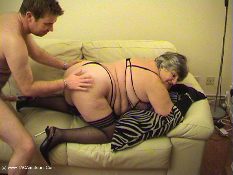 GrandmaLibby - Sucking Fucking Foot Wank Pt3 scene 0