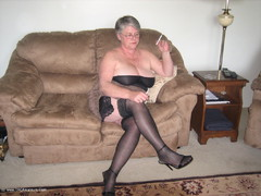 GirdleGoddess - Who's Been Coming On My Stockings? Video