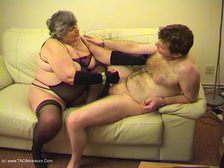 GrandmaLibby - Sucking Fucking Foot Wank Pt4 scene 3