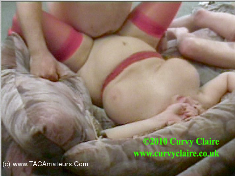 CurvyClaire - Living Room Orgy Pt3 scene 3