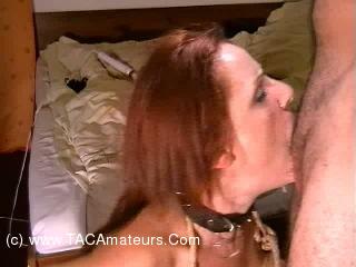 SubWoman - Slave Education Pt8 - Throat Massage scene 2