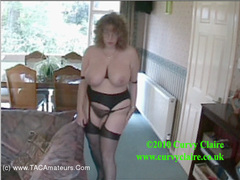 CurvyClaire - The Boss Is Away The Secretary Plays Pt2 HD Video