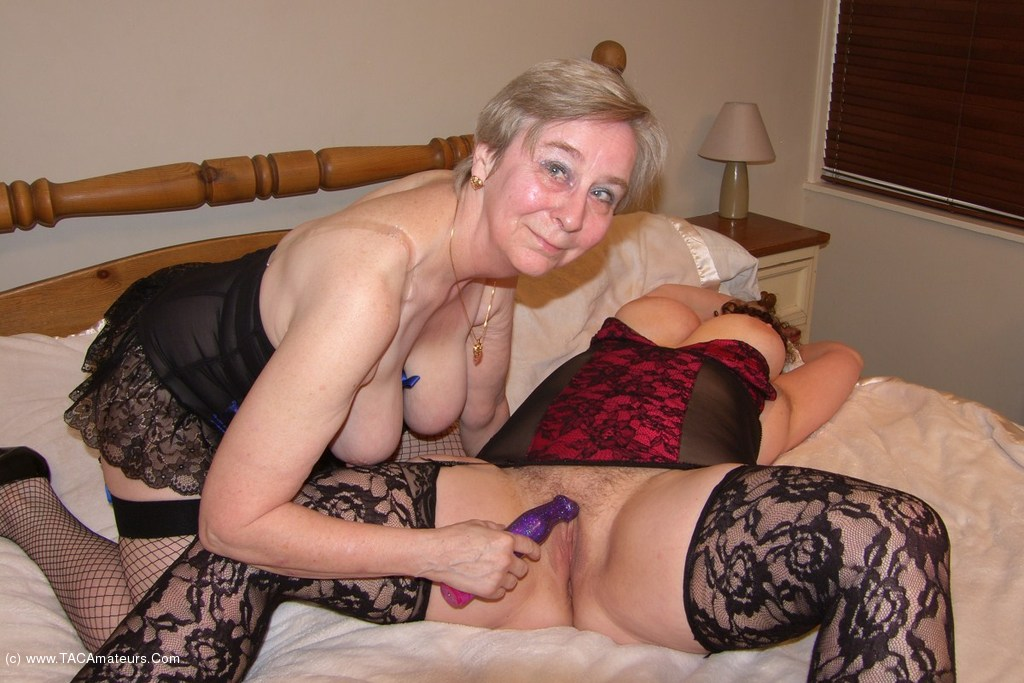 Two grannies getting naughty 6