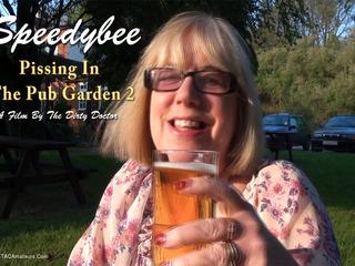SpeedyBee - Pissing In The Pub Garden Pt2 Video