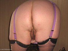 GirdleGoddess - New Corsett & Red Dildo Video