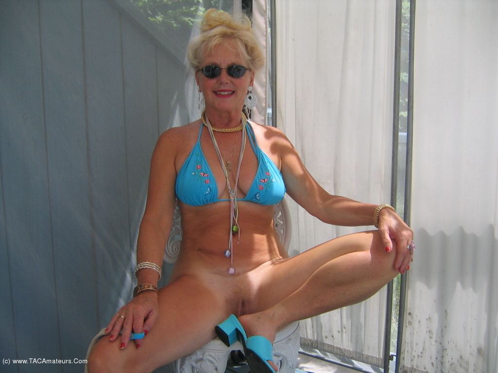 Ruth - Bikini Blue On Deck Pt2-2907