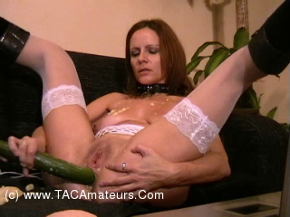 SubWoman - Banana Cucumber in Arse scene 2