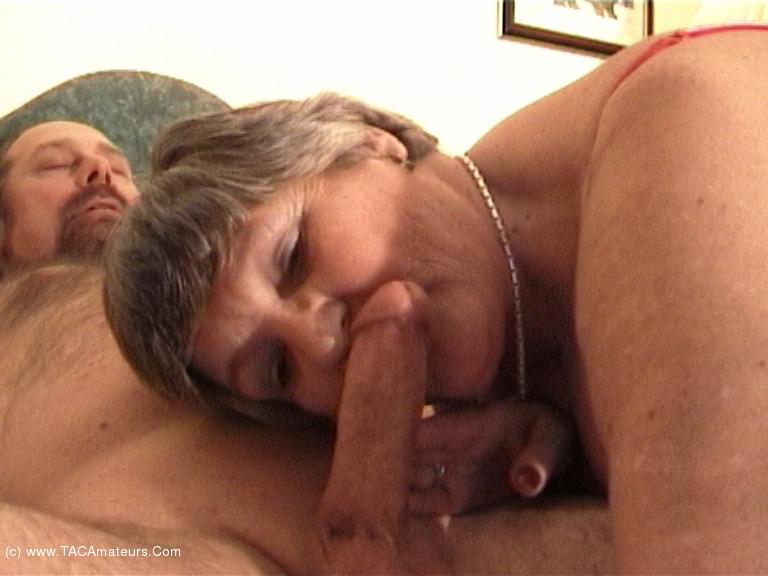 GrandmaLibby - Grandma Meets & Fucks Rob Pt2 scene 1