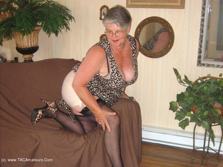 Girdle Goddess - Leopard Print Dress 2 Picture Gallery