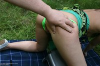traceylain - Picnic In Sexy Summer Dress Free Pic 1