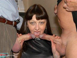 Wife Sucks Large Cocks