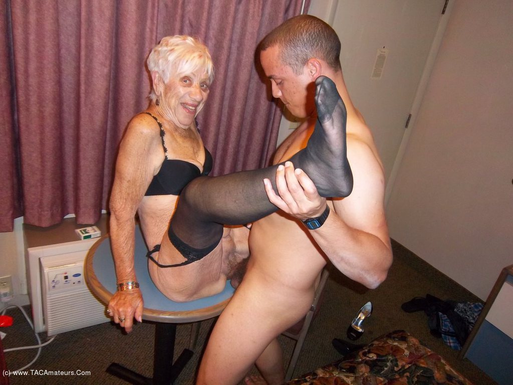 Cougarchampion - Fucking 89 Year Old Granny Marge-3510