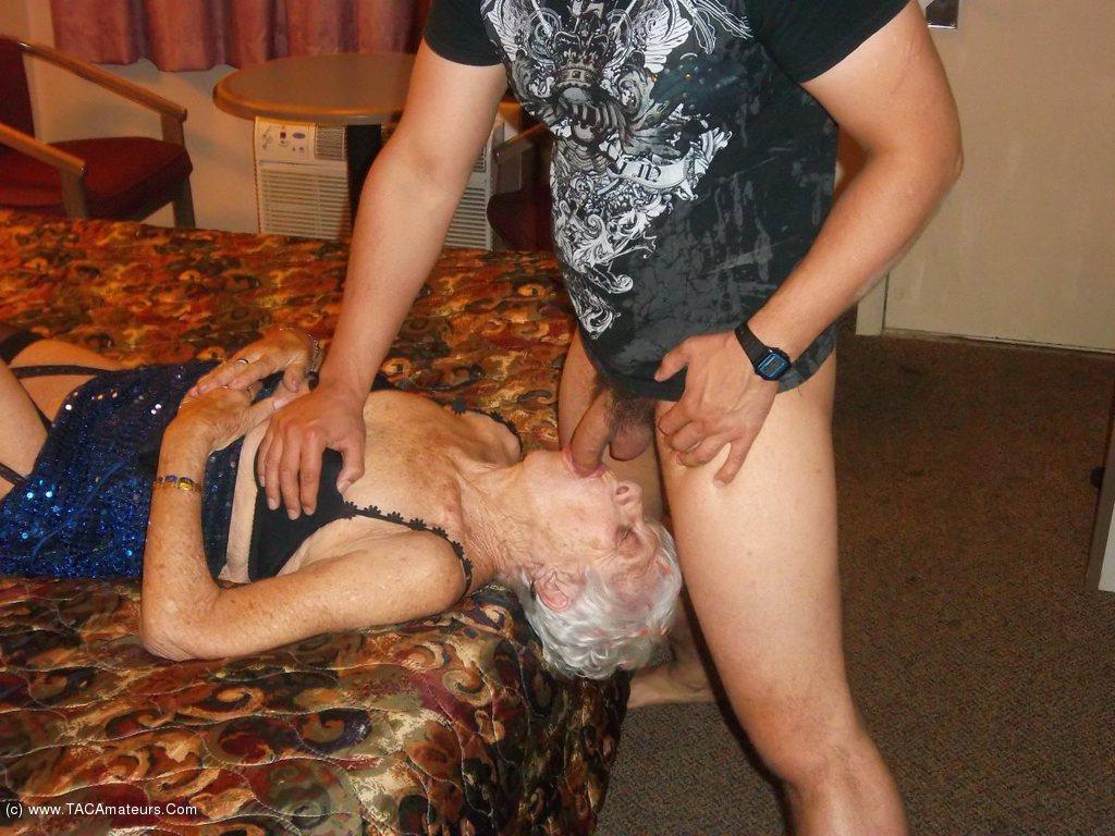 CougarChampion - Bareback Fucking 89 year old granny marge scene 1