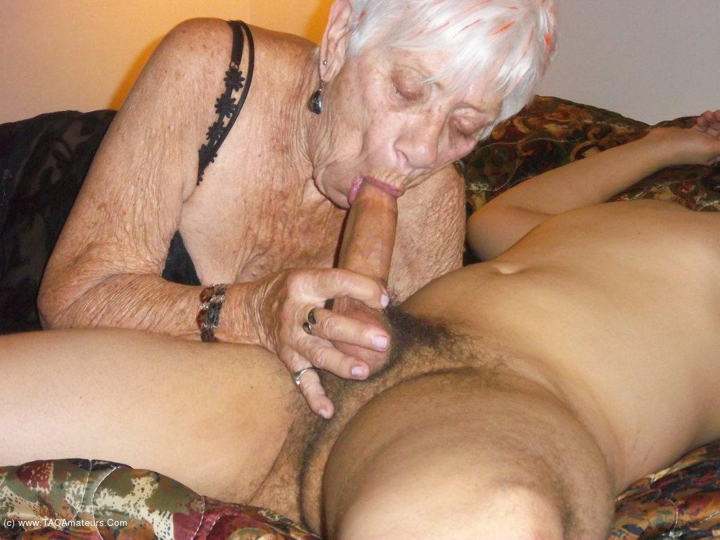 CougarChampion - Bareback Fucking 89 year old granny marge 2 scene 0