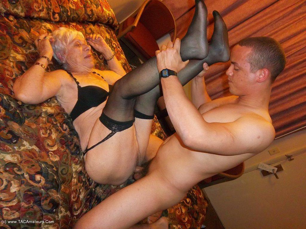 Cougarchampion - Bareback Fucking 89 Year Old Granny Marge -3754