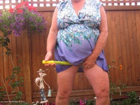 Outside fun with a bubble wand, Girdlegoddess, can think of a special place for that wand