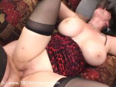 MatureKink - Annies 3-Way Creampie fuck 3 Video