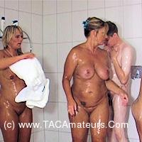 NudeChrissy - Mixed Shower scene 0