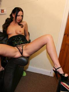 Get a friend round with a bottle on New Years Eve and have a good arse knobbing session
