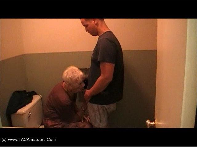 67 year old granny handjob - 3 9