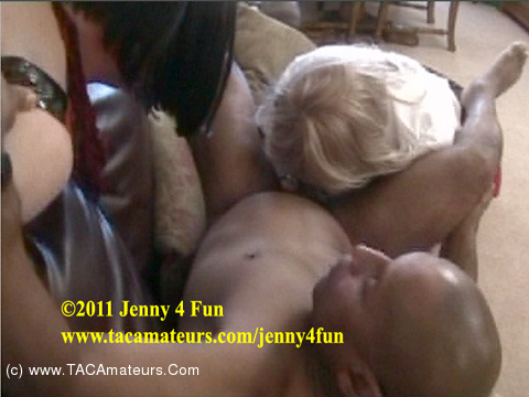 Jenny4Fun - Interracial 3 Some Pt2 scene 3