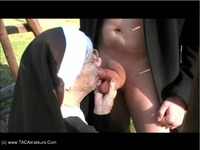 CougarChampion Granny Nun Fucked On A Swing Pt1 thumbnail