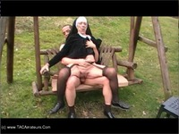CougarChampion Granny Nun Fucked On A Swing Pt2 thumbnail