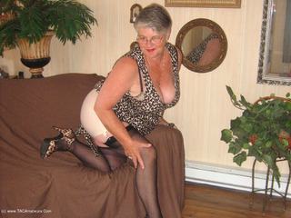 Girdle Goddess - New Leopard Print Dress Pt2 Video