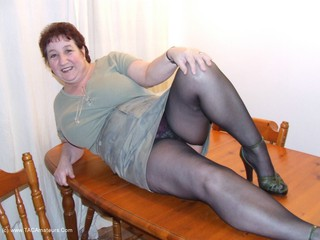 Kinky Carol - Tights On The Table Picture Gallery