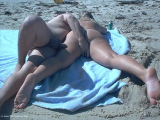 Gangbang Momma - Nude Beach Orgy Picture Gallery