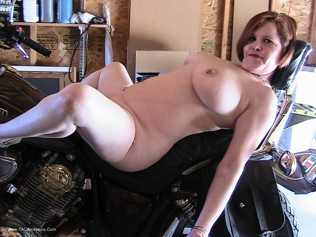 Hot biker milf