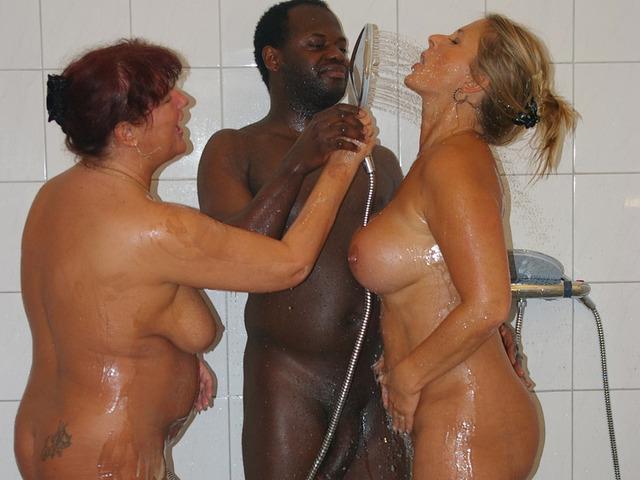 NudeChrissy - Chocco Shower