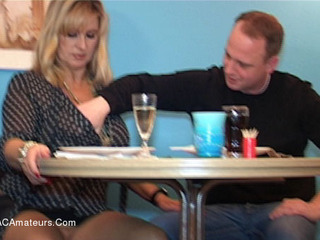 Nude Chrissy - Sex In The Restaurant HD Video