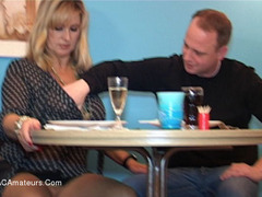 NudeChrissy - Sex In The Restaurant HD Video