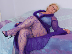 Fanny - Purple Body Stocking Gallery