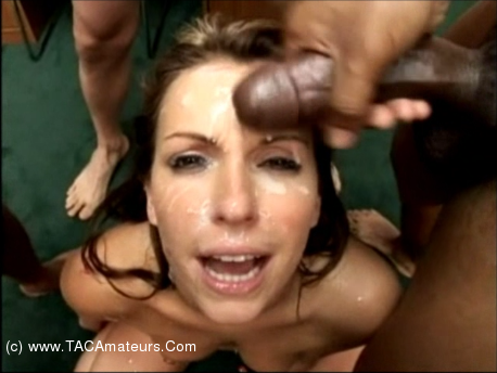 FaceFuckedWives - Cum Covered Courtney  scene 1