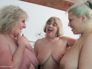 Gina George - Strap On Sisters Pt1 HD Video