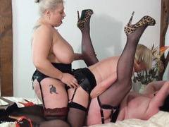 Gina George - Strap On Sisters Pt2 HD Video