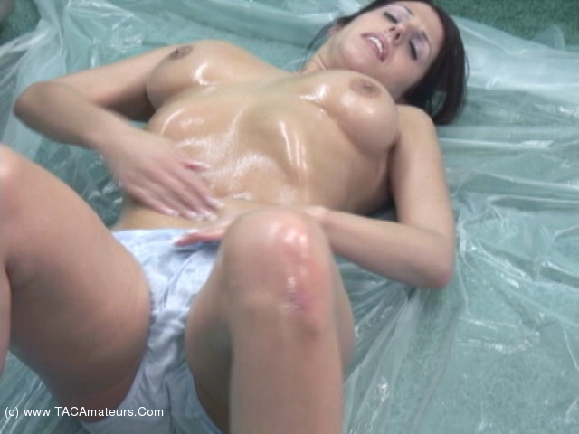 LavenderRayne - Kinky Fun With Baby Oil scene 1